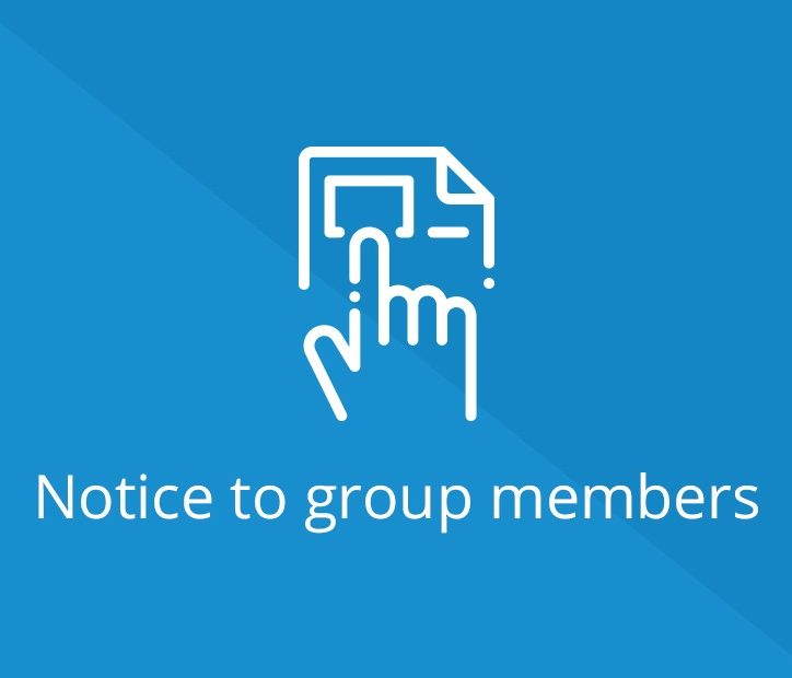 Notice to Group Members